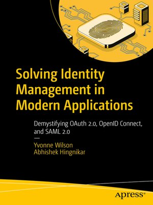 cover image of Solving Identity Management in Modern Applications