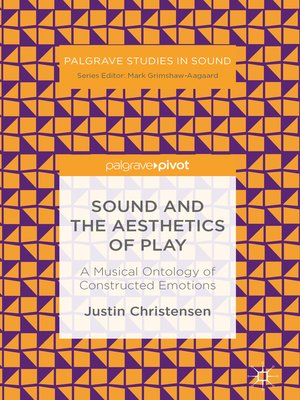 cover image of Sound and the Aesthetics of Play
