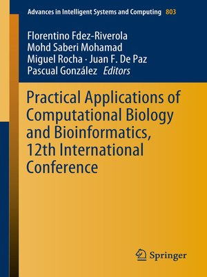 cover image of Practical Applications of Computational Biology and Bioinformatics, 12th International Conference