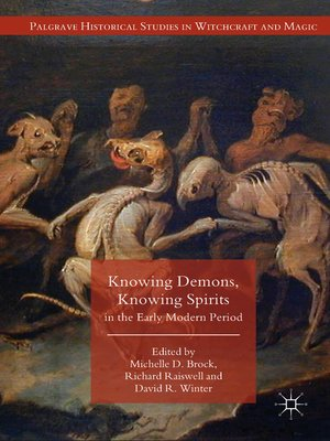 cover image of Knowing Demons, Knowing Spirits in the Early Modern Period