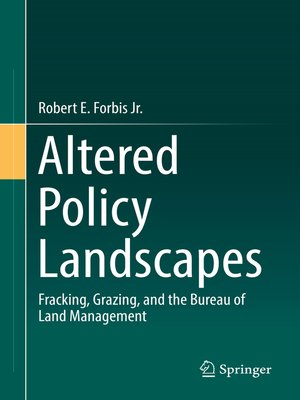 cover image of Altered Policy Landscapes