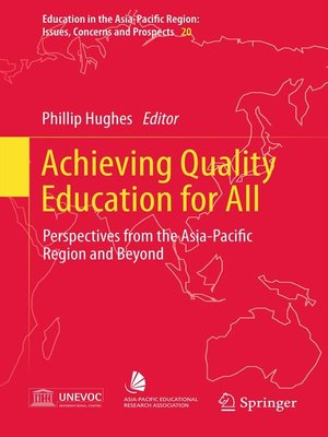cover image of Achieving Quality Education for All