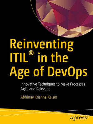 cover image of Reinventing ITIL® in the Age of DevOps