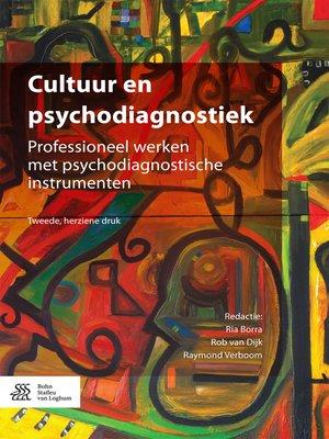 cover image of Cultuur en psychodiagnostiek