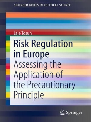 cover image of Risk Regulation in Europe