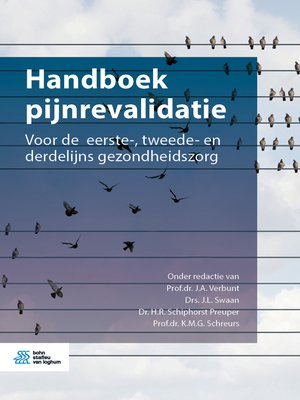 cover image of Handboek pijnrevalidatie
