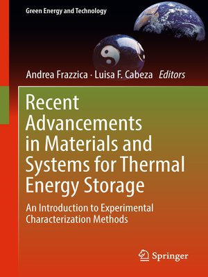 cover image of Recent Advancements in Materials and Systems for Thermal Energy Storage
