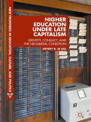 cover image of Higher Education under Late Capitalism