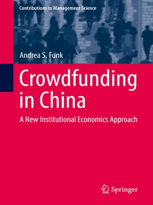 cover image of Crowdfunding in China