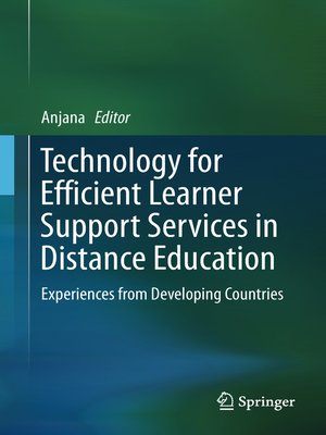 cover image of Technology for Efficient Learner Support Services in Distance Education