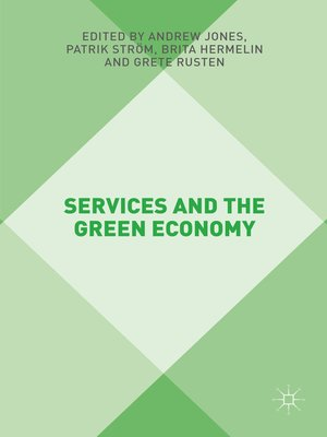 cover image of Services and the Green Economy