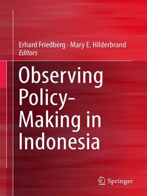 cover image of Observing Policy-Making in Indonesia
