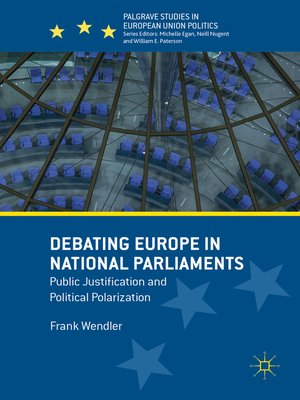 cover image of Debating Europe in National Parliaments