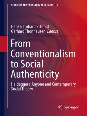 cover image of From Conventionalism to Social Authenticity