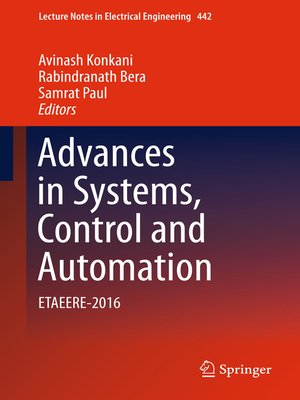 cover image of Advances in Systems, Control and Automation