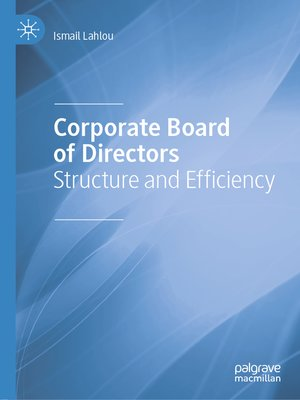 cover image of Corporate Board of Directors