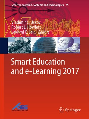 cover image of Smart Education and e-Learning 2017