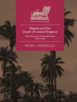 cover image of Nigeria and the Death of Liberal England