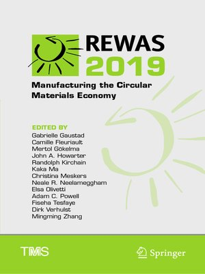 cover image of REWAS 2019