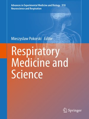 cover image of Respiratory Medicine and Science