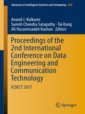 cover image of Proceedings of the 2nd International Conference on Data Engineering and Communication Technology