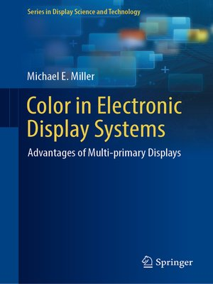 cover image of Color in Electronic Display Systems