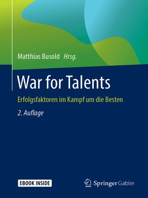cover image of War for Talents