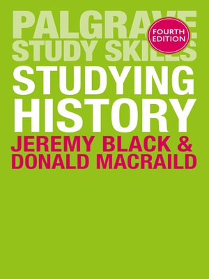 cover image of Studying History