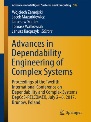 cover image of Advances in Dependability Engineering of Complex Systems