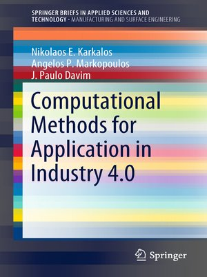 cover image of Computational Methods for Application in Industry 4.0