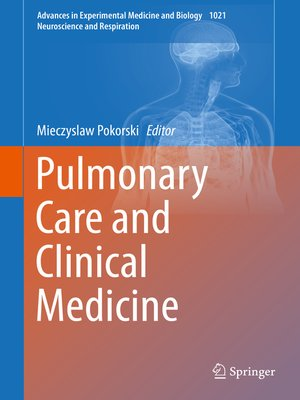 cover image of Pulmonary Care and Clinical Medicine