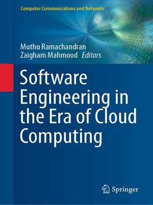 cover image of Software Engineering in the Era of Cloud Computing