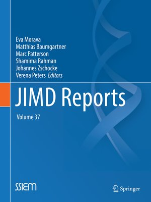 cover image of JIMD Reports, Volume 37
