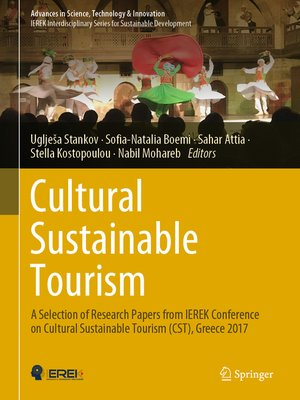 cover image of Cultural Sustainable Tourism