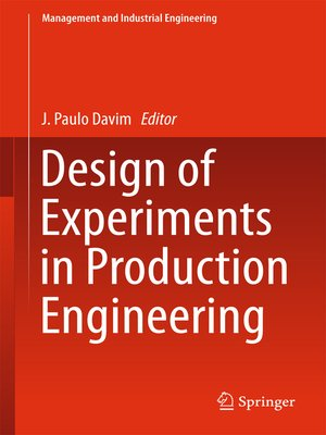 cover image of Design of Experiments in Production Engineering