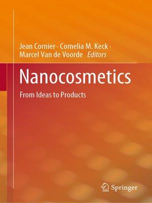 cover image of Nanocosmetics