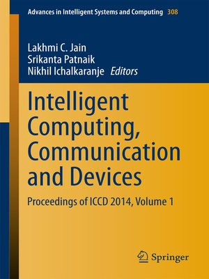 cover image of Intelligent Computing, Communication and Devices