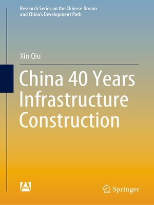 cover image of China 40 Years Infrastructure Construction