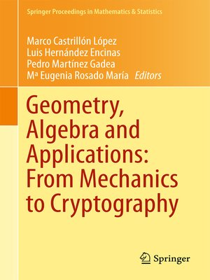 cover image of Geometry, Algebra and Applications