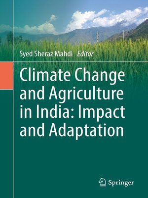 cover image of Climate Change and Agriculture in India