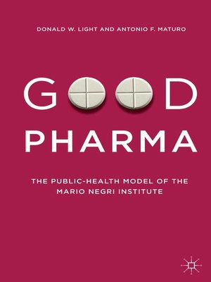 cover image of Good Pharma