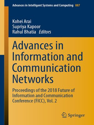 cover image of Advances in Information and Communication Networks