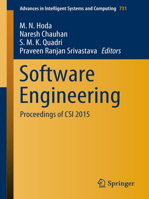 cover image of Software Engineering