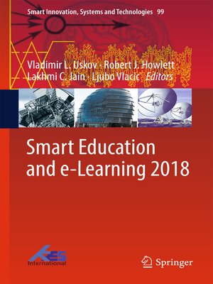cover image of Smart Education and e-Learning 2018