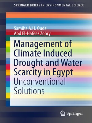 cover image of Management of Climate Induced Drought and Water Scarcity in Egypt