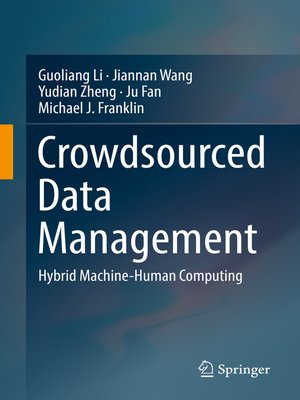 cover image of Crowdsourced Data Management