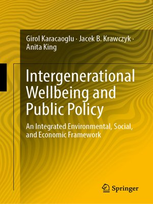 cover image of Intergenerational Wellbeing and Public Policy