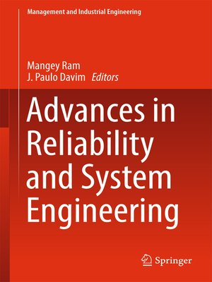 cover image of Advances in Reliability and System Engineering