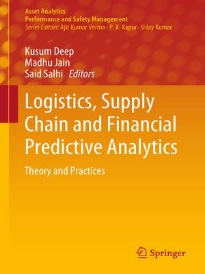 cover image of Logistics, Supply Chain and Financial Predictive Analytics