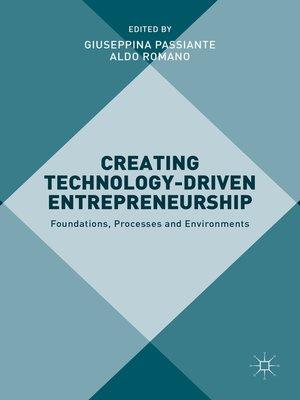 cover image of Creating Technology-Driven Entrepreneurship